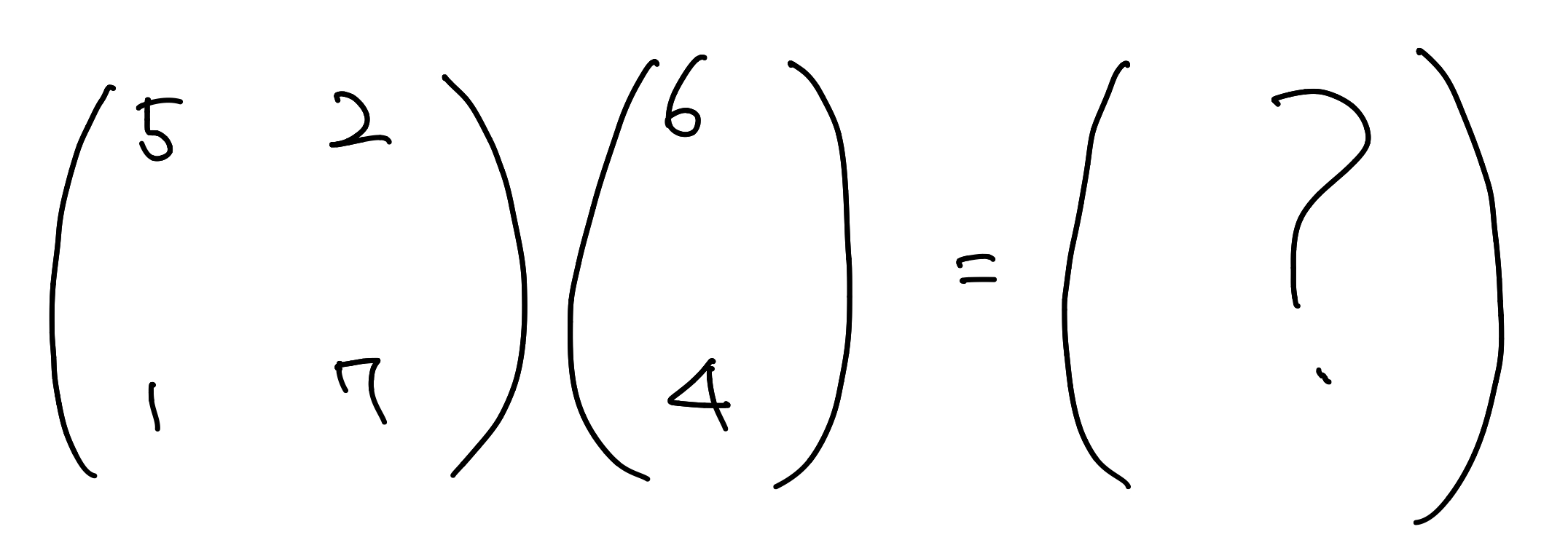 neuron matrix multiplication